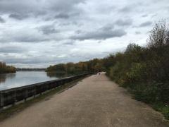 Walking along the Rhone